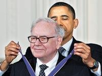 ברק אובמה, וורן באפט / צלם: רויטרס